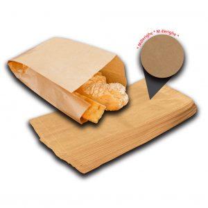 Sacchetti carta millerighe 40gr 10 kg 32x66 - Sacchetti carta millerighe 40gr 10 kg Panificio - Coleschi