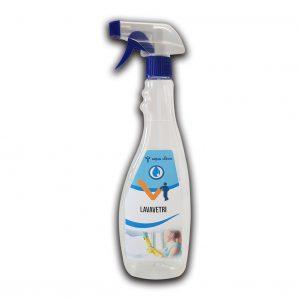 Detergente in flacone da 750 ml lavavetri - Detergente vetri Detergenza - Coleschi