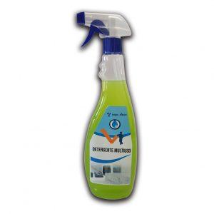 Detergente in flacone da 750 ml multiuso superfici profumato - Detergente multiuso Detergenza - Coleschi
