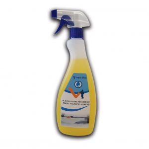 Detergente in flacone da 750 ml sgrassatore multiuso profumazione arancio - Detergente multiuso Detergenza - Coleschi