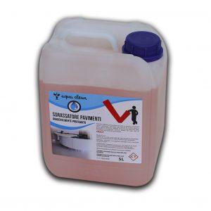 Detergente linea rossa sgrassatore pavimenti concentrato profumazione agrumi in tanica sovrapponibile - Detergente pavimenti concentrato Detergenza - Coleschi