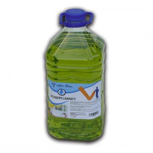 Detergente in tanica pet con maniglia 5 kg lavapiatti profumazione cedro - Detergente cucina lavapiatti Detergenza - Coleschi