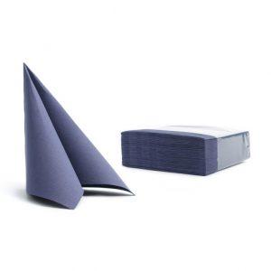 Tovaglioli soft point microincollati 38x38 blu scuro (301) - Tovaglioli soft point microincollati 38x38 Pasticceria - Coleschi
