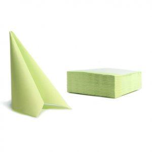 Tovaglioli soft point microincollati 38x38 lime (113) - Tovaglioli soft point microincollati 38x38 Pasticceria - Coleschi
