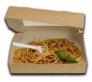 Scatola take away eco tabox 1000 200X120MM H40 - Scatola take away Pizzeria e ristorazione - Coleschi