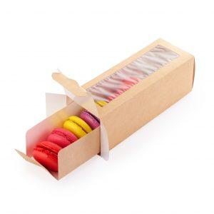 Scatola eco macarons 180X55X55 - Scatola eco macarons Pizzeria e ristorazione - Coleschi