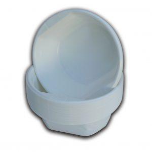 Ciotola bianca con maniglia 350cc - Ciotola bianca con maniglia Gastronomia - Coleschi