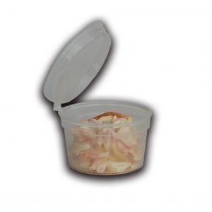 Contenitore per salse trasparente con coperchio 1oz - Contenitore per salse trasparente con coperchio Pizzeria e Ristorazione - Coleschi