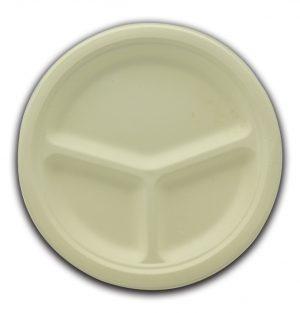 Bio servito piatti 3 scomparti diametro 26 - Bio servito piatti Pizzeria e Ristorazione - Coleschi