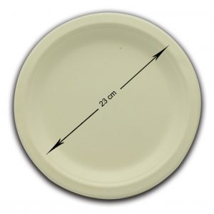 Bio servito piatto piano 23 cm - Bio servito piatti Pizzeria e Ristorazione - Coleschi