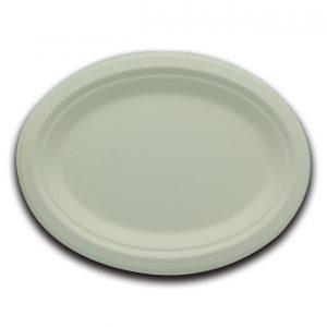 Bio servito piatto ovale 26 cm - Bio servito piatti Pizzeria e Ristorazione - Coleschi